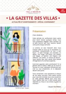 Gazette 1 Spécial confinement