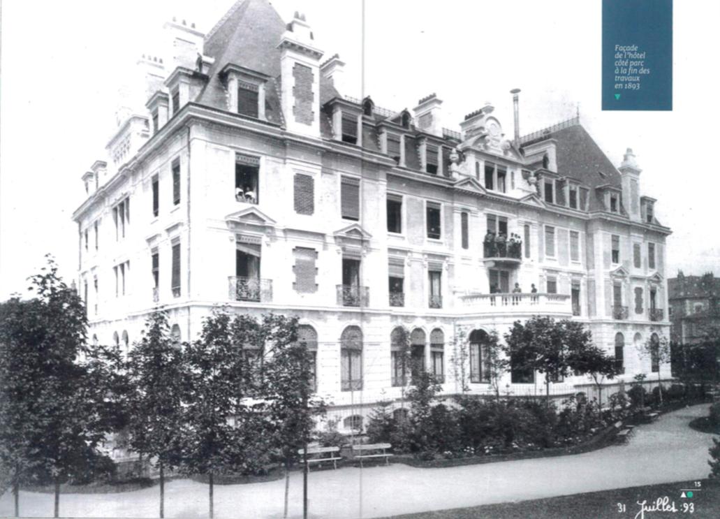Grand Hôtel des bains Besançon