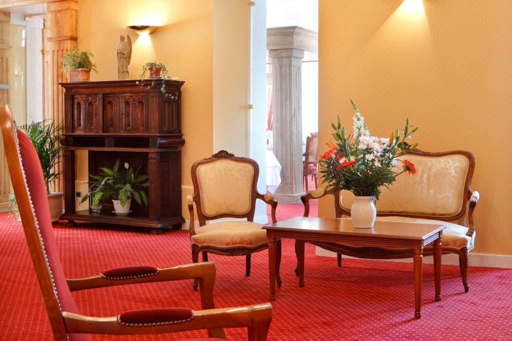 Salon de la résidence senior Autun, Villa Médicis
