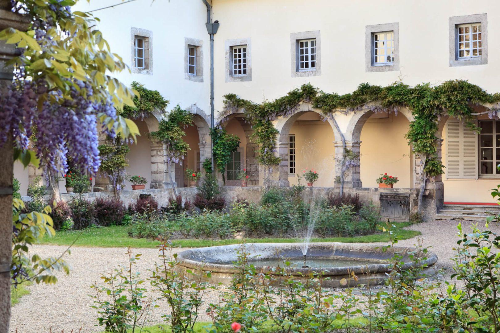 Jardins Maison LAZARE, Villa Médicis Autun