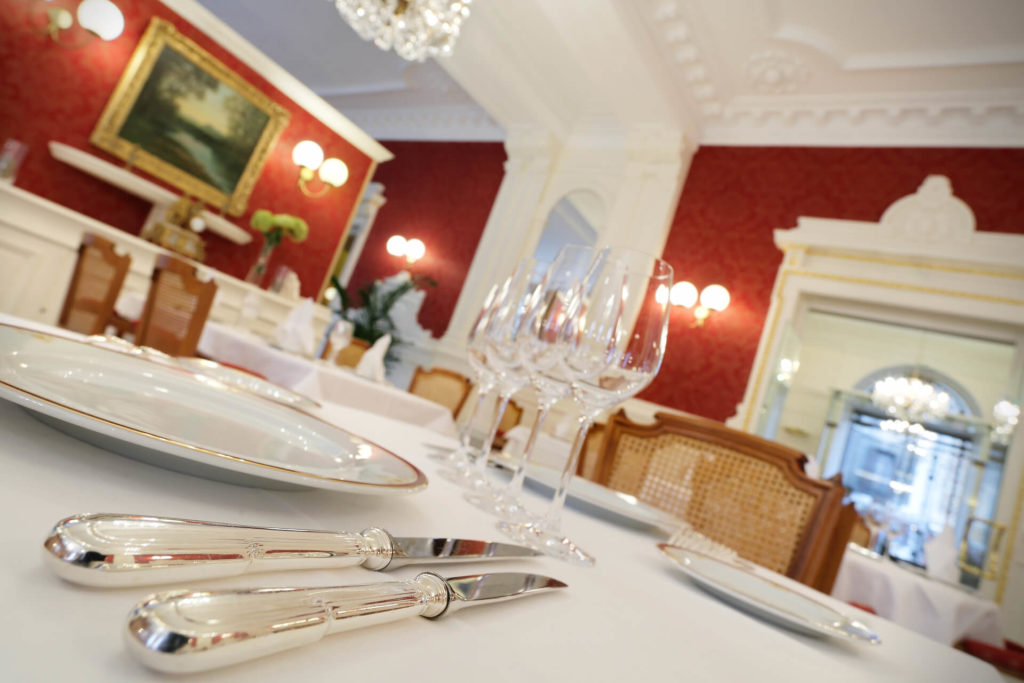 Restaurant Le Medicis Besançon - Table dressée