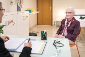 consultation infirmière à la Villa Médicis