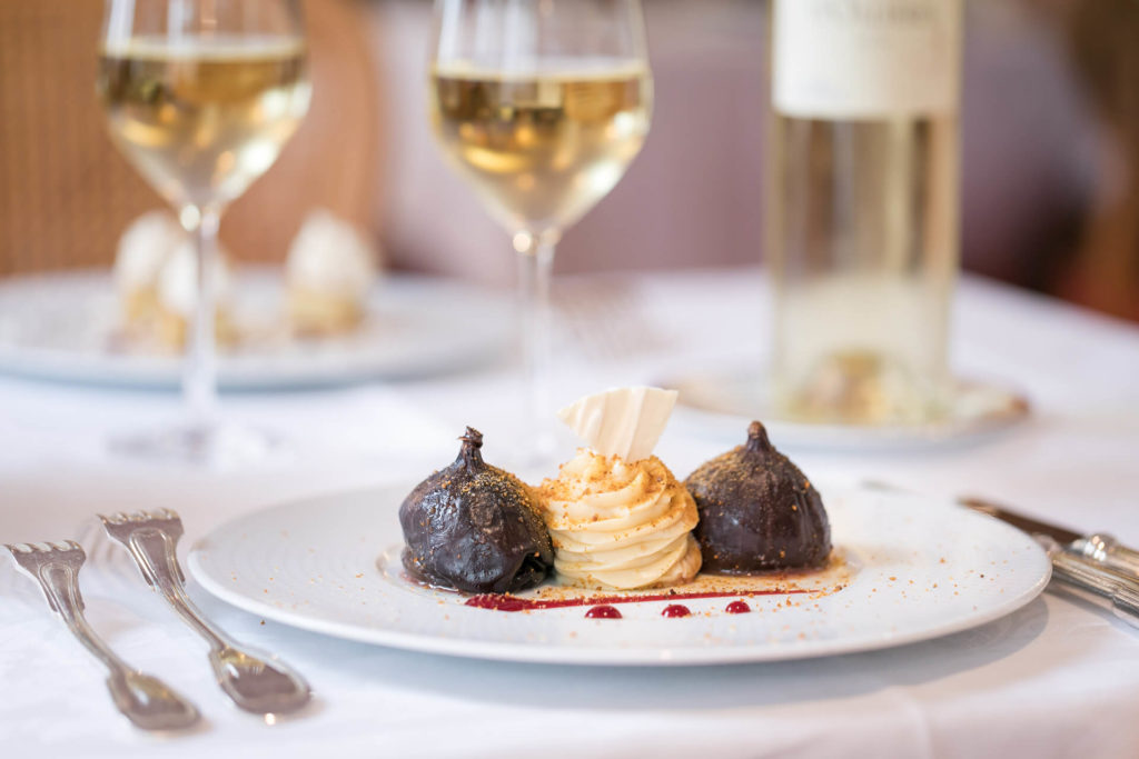 Desserts Restaurant Villa Médicis - Chocolat et vanille