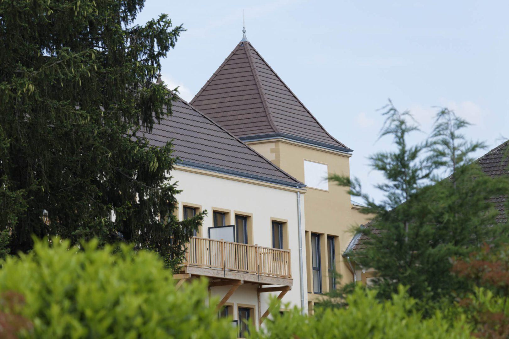 Façade de la Villa Medicis Paray Le Monial