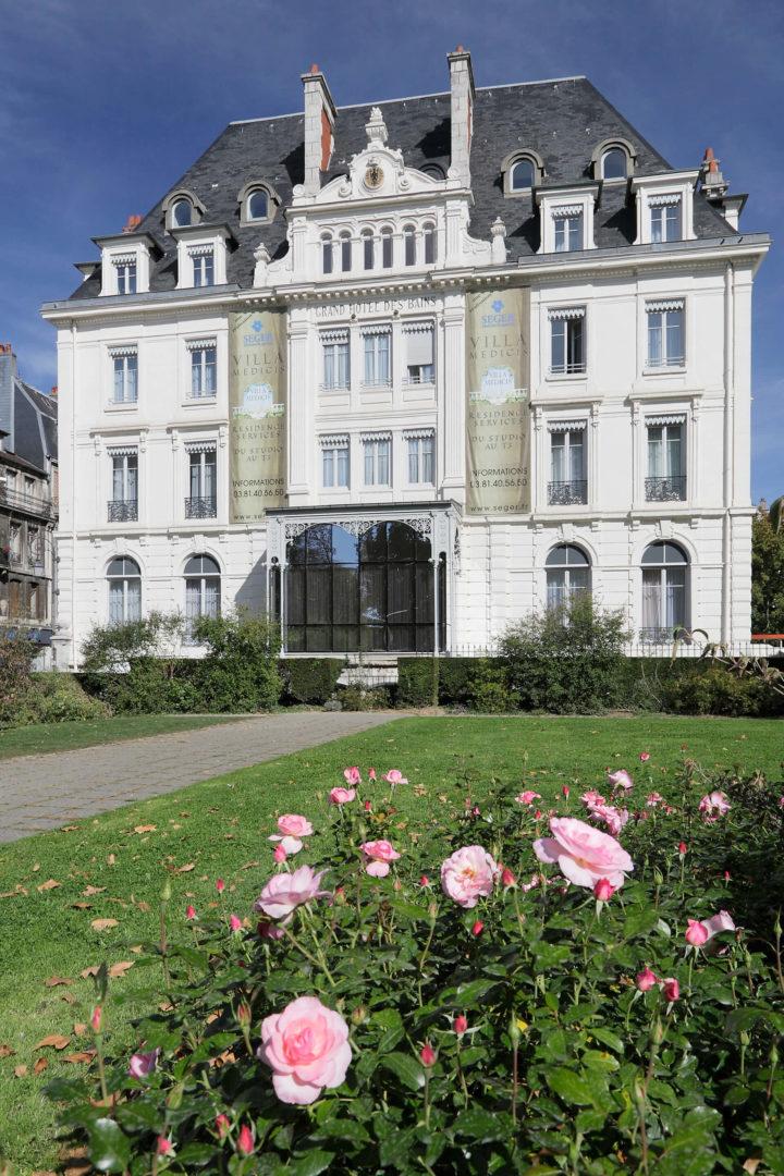 Jardins de la Villa Médicis Besançon
