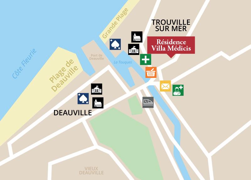Trouver la résidence senior Trouville-sur-Mer - Deauville