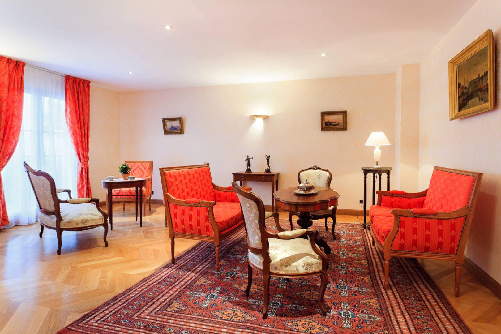 Salon de la résidence senior Trouville, Résidence Villa Medicis Trouville