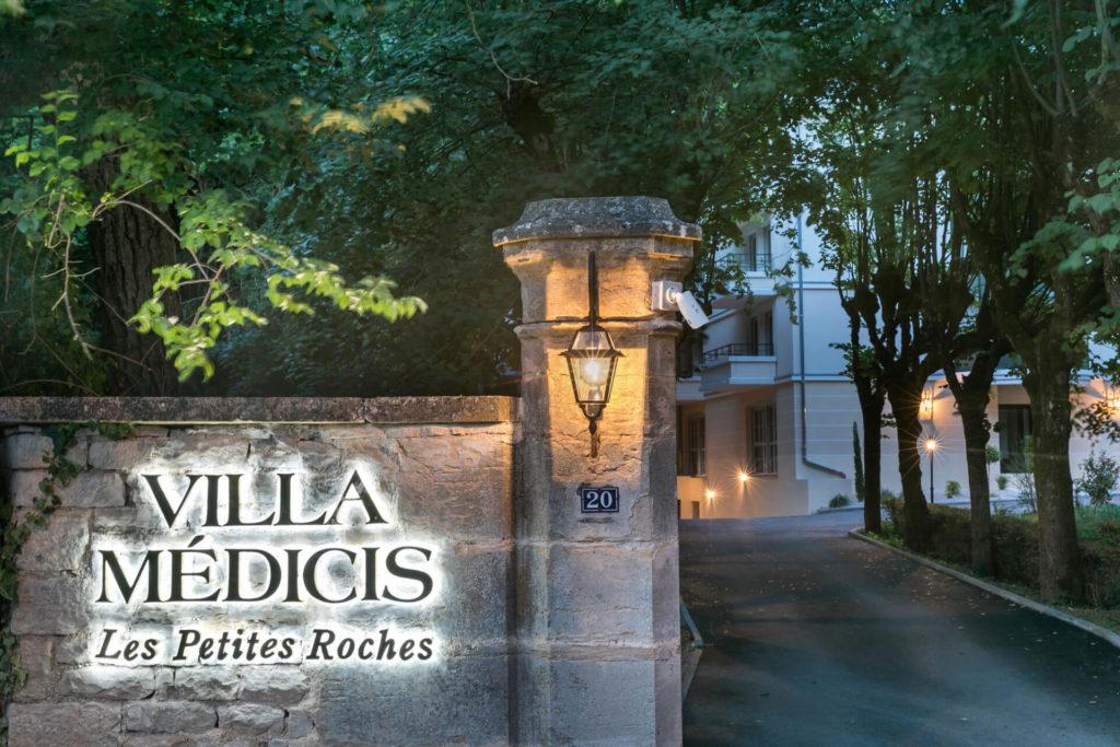 Résidence senior Dijon - Villa Médicis Entrée Nuit