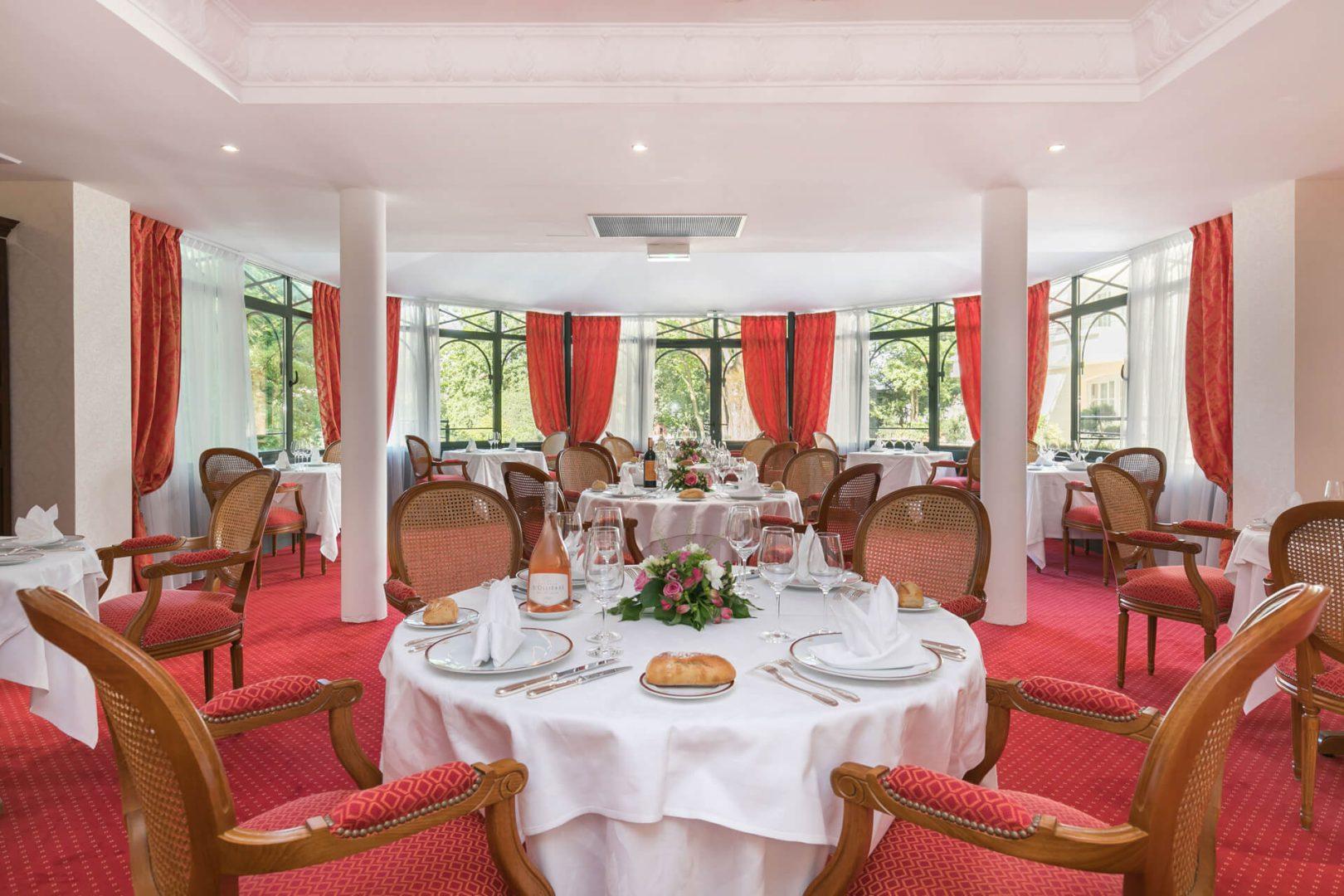 Restaurant de la résidence senior Dijon Villa Médicis