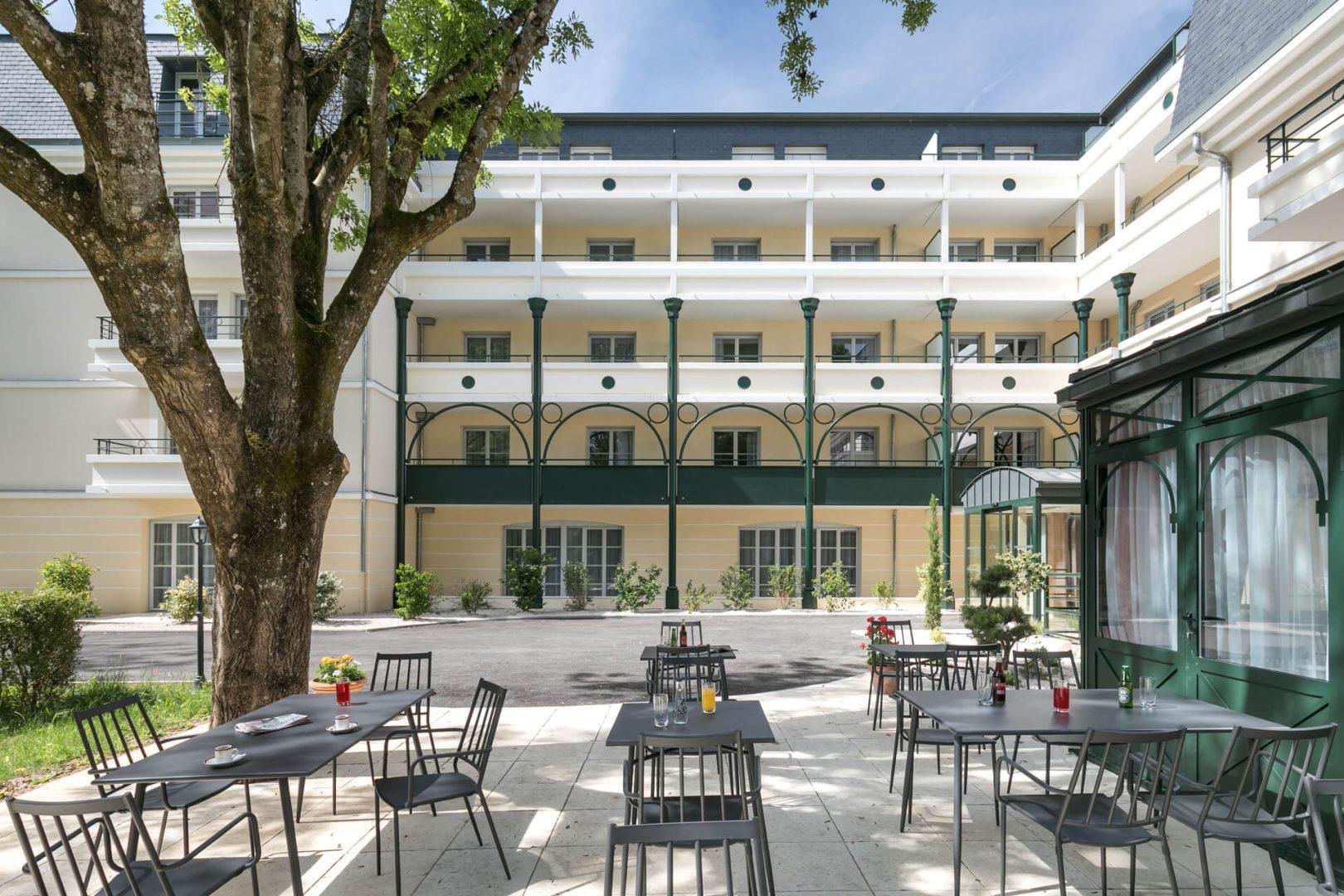 Terrasses Résidence Villa Médicis Dijon