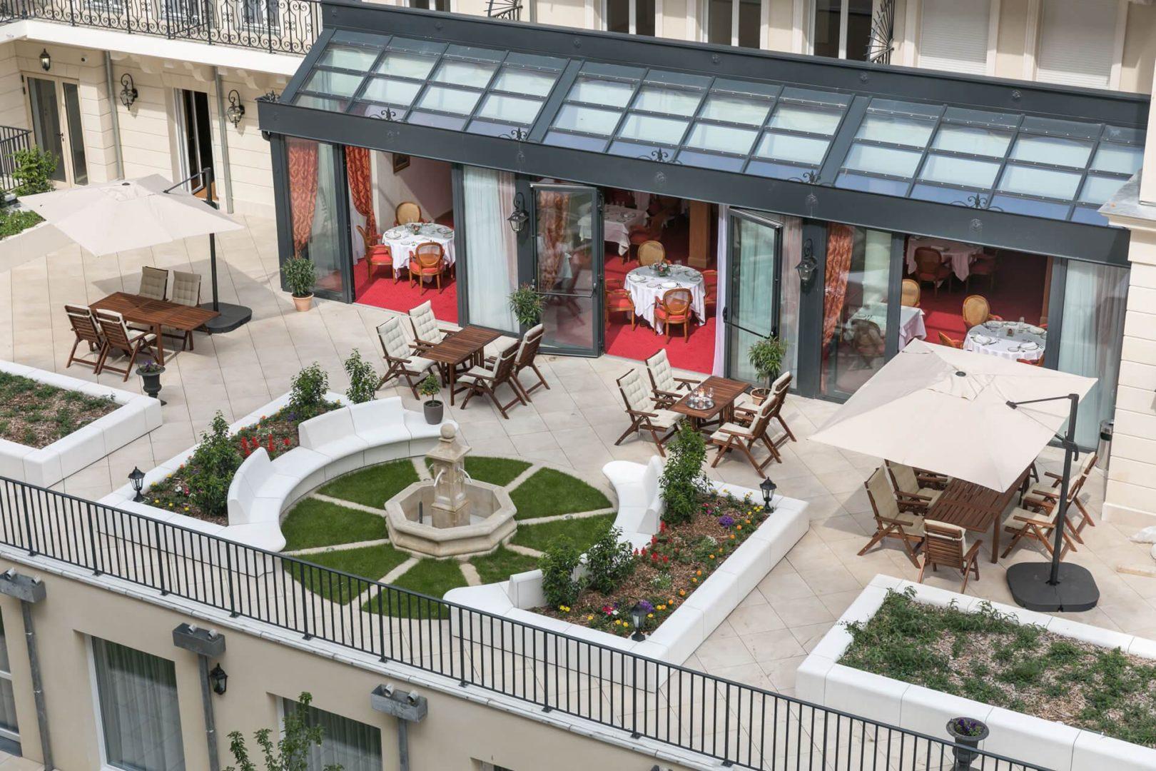 balcon de Résidence Villa Médicis Puteaux